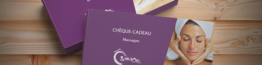 Chèques massages